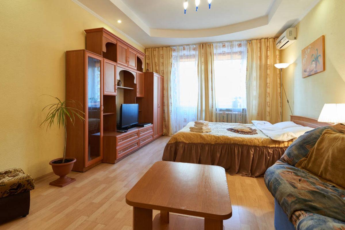 Однокомнатная квартира посуточно, Малая Житомирская